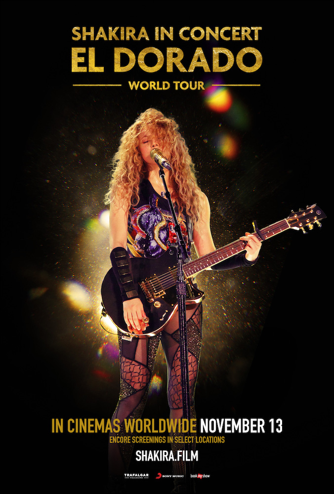 Shakira In Concert: El Dorado World Tour poster