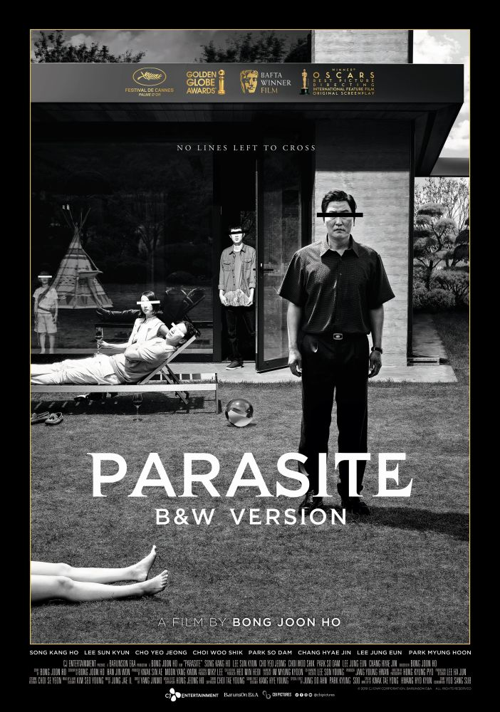 Parasite – B&W Version poster
